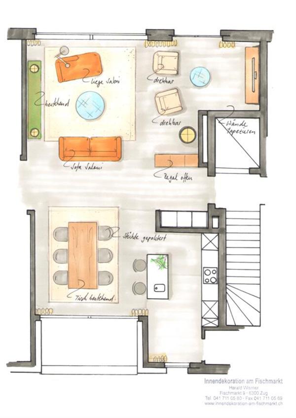 Innenarchitektur entstehen von individuellem wohnraum for Innenarchitektur stellen
